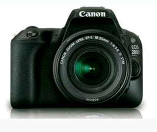 Kredit Camera Canon Eos 200D Proses 3 Menit Gratis 1kali cicilan