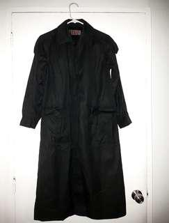 YSL BLACK TRENCH COAT