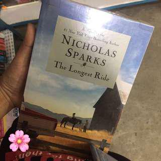 (BRAND NEW) The Longest Ride by Nicholas Sparks