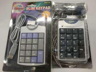 數字keyboard