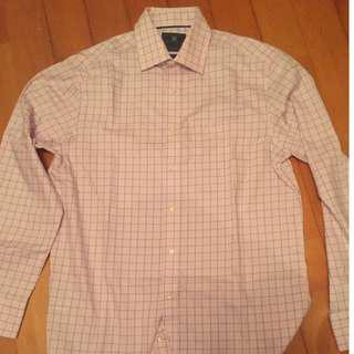 Marks and Spencer Checkered pure cotton Shirt