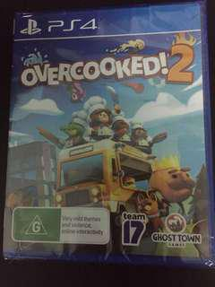 PS4 Overcooked 2 (New)