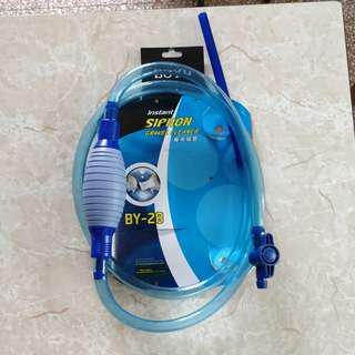 [高質] 抽水泵 吸水泵 有開關 魚缸 水族用品