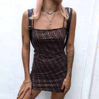 Motel rocks mini dress