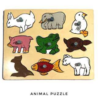 Puzzle Kayu Animal