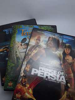 Orig Disney DVDs Prince of Persia, Tangled, Tron
