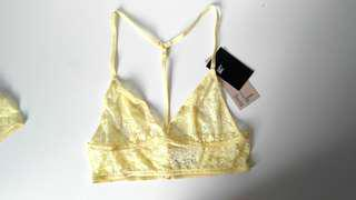 ( New )  2 H & M Bras for 15 ( lingerie / crop top )