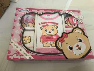 Brand New Baby Girl Clothes Gift Set 0-3 Months