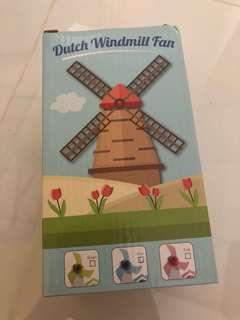 Brand New Dutch Windmill Fan