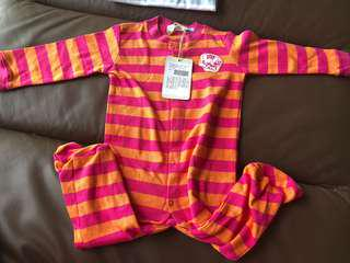 [Brand New] (6M-12M) Fox Baby Sleepsuit