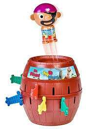 [CLEARANCE] LARGE SIZE 20CM PIRATE POP UP