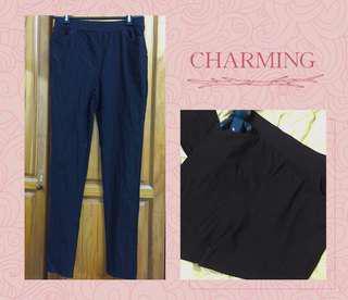 🚚 黑色🌻休閒長褲、打底褲 #九月女裝半價