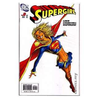 DC Comics Lot Supergirl (2005) #0,1-8 Variant Jeph Loeb Michael Turner