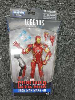 Marvel Legends Hasbro civil war giant man ironman iron man mk 46 mk46 new