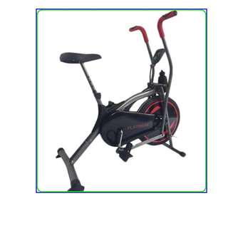 Platinum Bike Wind Cycle Hitam 2 in 1 Sepeda Fitness Magnetic
