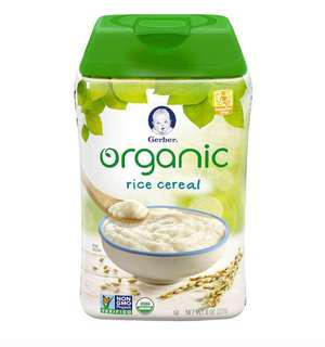 3 FOR $10 👍🏻Gerber Organic Rice Cereal