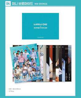 Wanna One Summer Package Loose Items