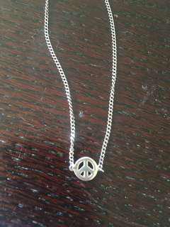 Karen Walker Peace Necklace