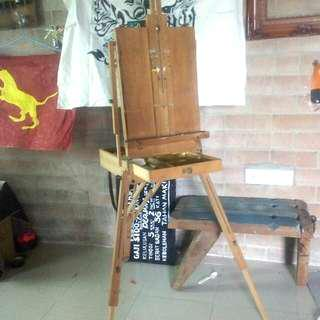 Drawing Easel, Le Franc & Bourgeois