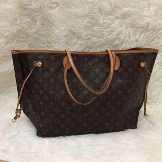 LV Neverfull GM Authentic