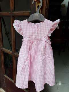 Dresa mothercare size 6-9 bln