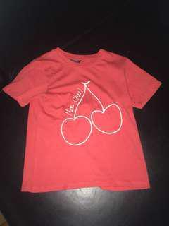 Cherry Topshop shirt