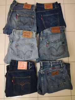 Levis Combo 6 Jeans