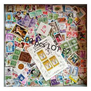 World Mix Stamps 500 pcs lot E7 BM31