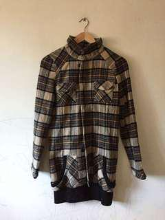 Checkered flannel sweater #MidSep50