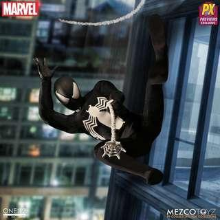 Mezco PX Exclusive Black Symbiote Spiderman