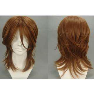 New Wig Men Long Hair Natural Looking Gundam Cosplay