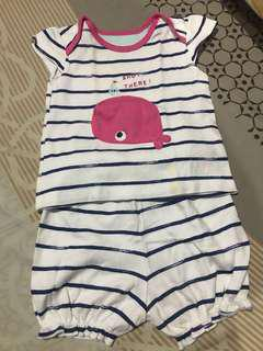 Mothercare ahoy there terno 3-6 mos.
