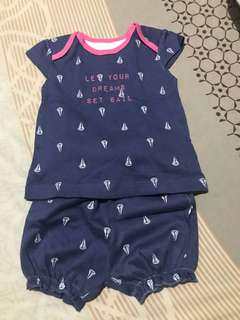 Mothercare set sail terno 3-6 mos.