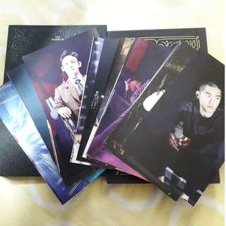 EXO ELYXION DVD POSTCARD (LOOSE ITEM) READY STOCK