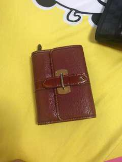 preowned auth lv wallet suhali