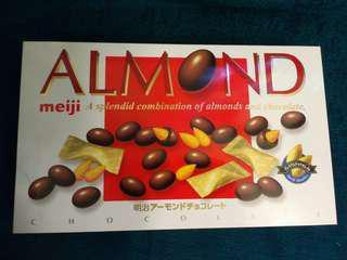 Meiji Almond Chocolate-明治果仁巧克力