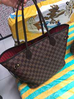 preowned auth lv neverful mm