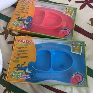 Nuby Suction Plate Mats💕
