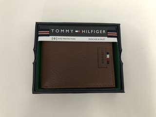 Tommy Hilfiger Leather Wallet 真皮銀包 男仕