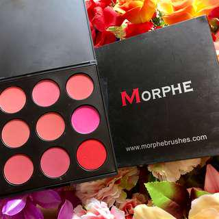 Morphe Blush On Palette