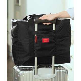 Tas Lipat Ringan Tas Jalan Tas Hitam Tas Ringan Tas Besar Black Foldable and Light Travel Bag Tas Lipat Travel