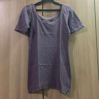 Mossimo purple tshirt