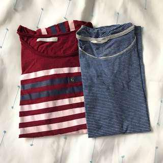 zara and h&m tshirts sold as set