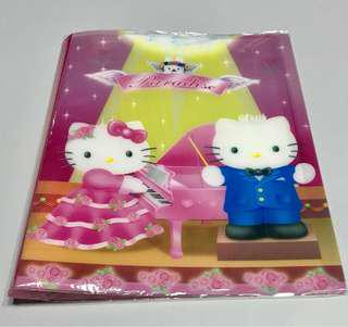 Clear Folder 18 Pages Each , hello kitty, Donald, twinkle