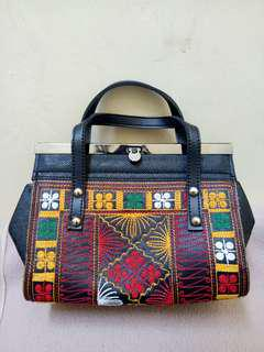 Hand Bag / Clutch Motif Aceh