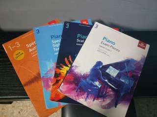 Grade 3 Piano book