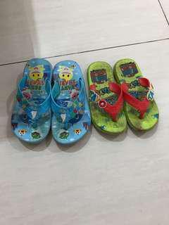 sandal jepit 2 pasang