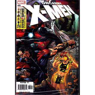 Marvel Comics Uncanny X-Men #475-486 THE RISE AND FALL OF THE SHI'AR EMPIRE 12 ISSUES Complete