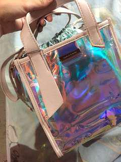 Transparent Holographic Bag
