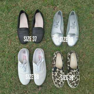 Take all RM30!!Assorted flat shoes #under90